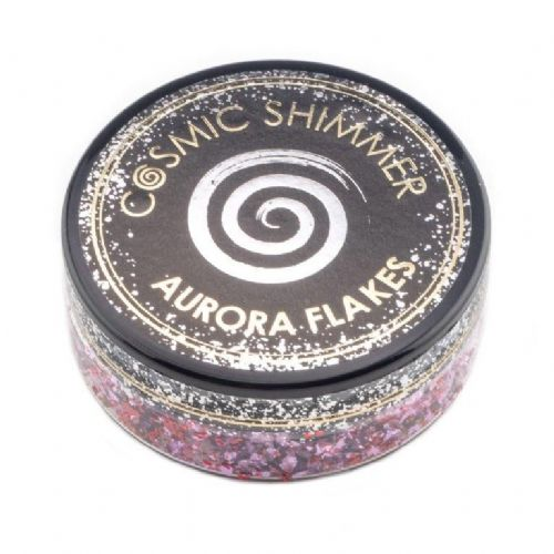Blissful Berry Cosmic Shimmer Aurora Flakes (50ml)